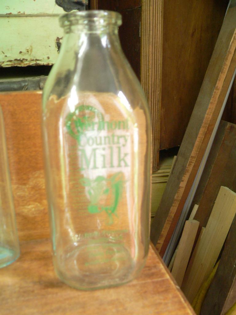 Bouteille de lait # 2095