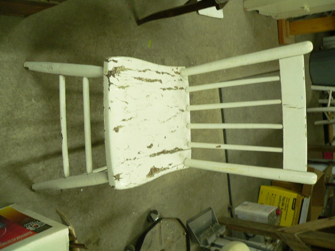 Chaise antique # 2350