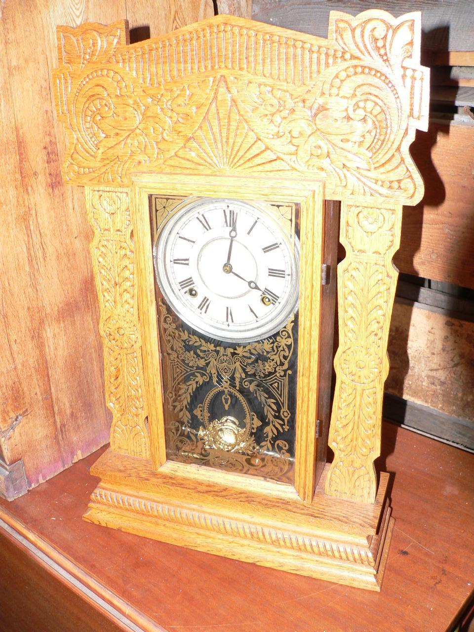 Horloge antique pain d'épice # 3052