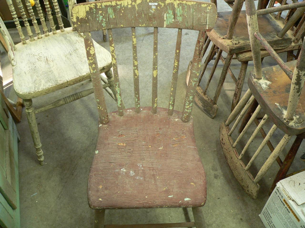 Chaise antique pour enfant # 3776