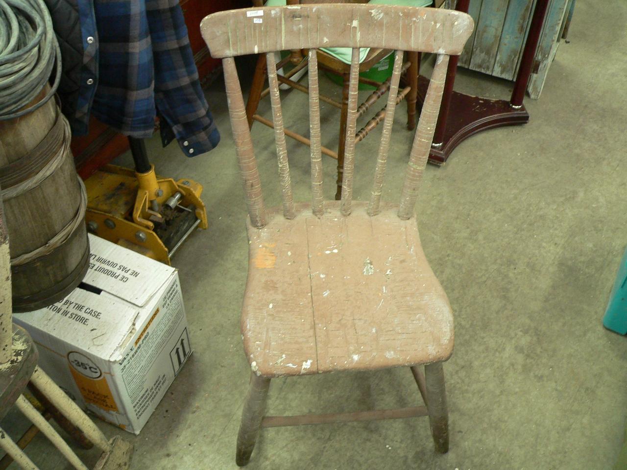 Chaise antique pour enfant # 3778