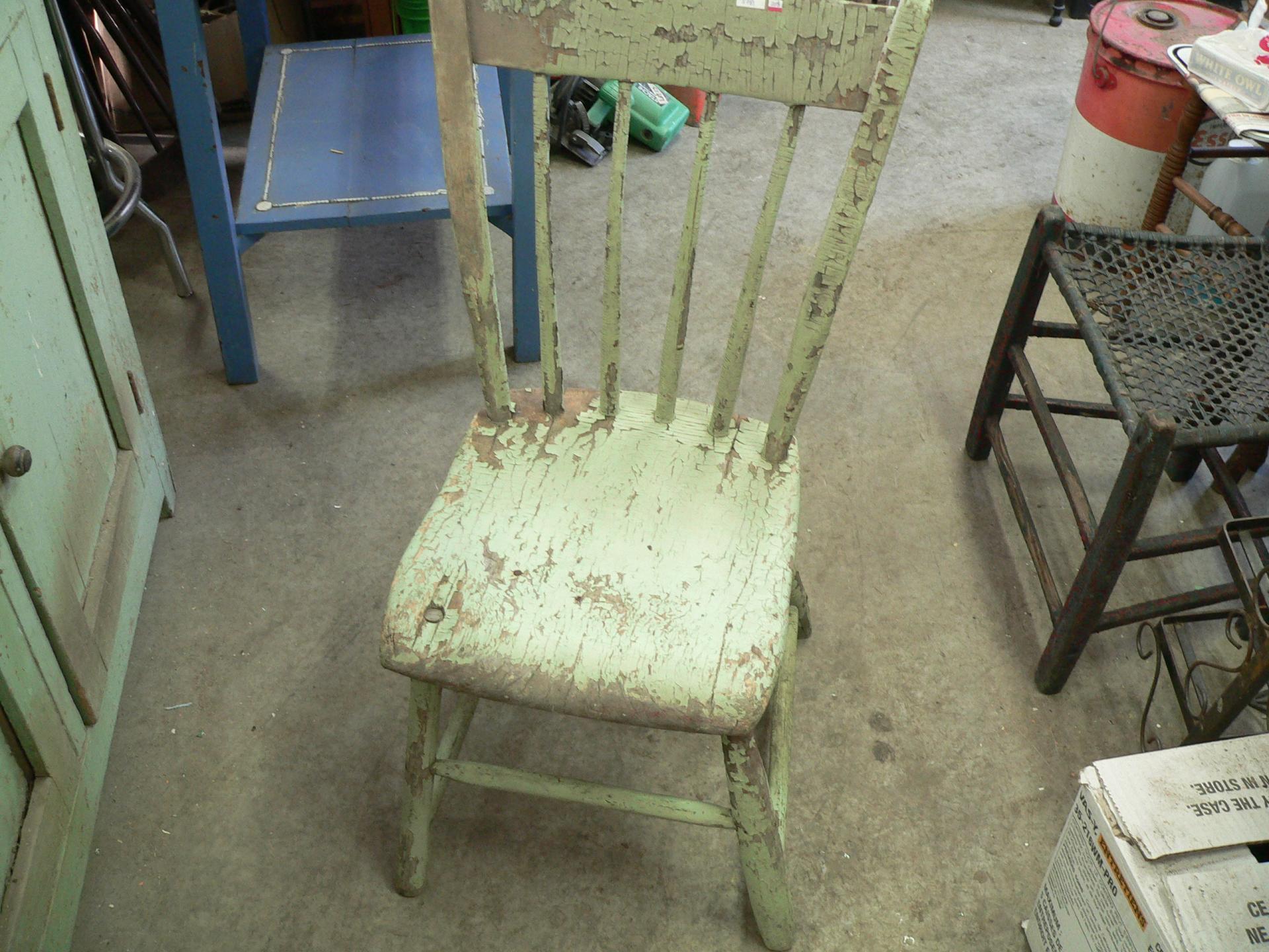 Chaise antique # 3781