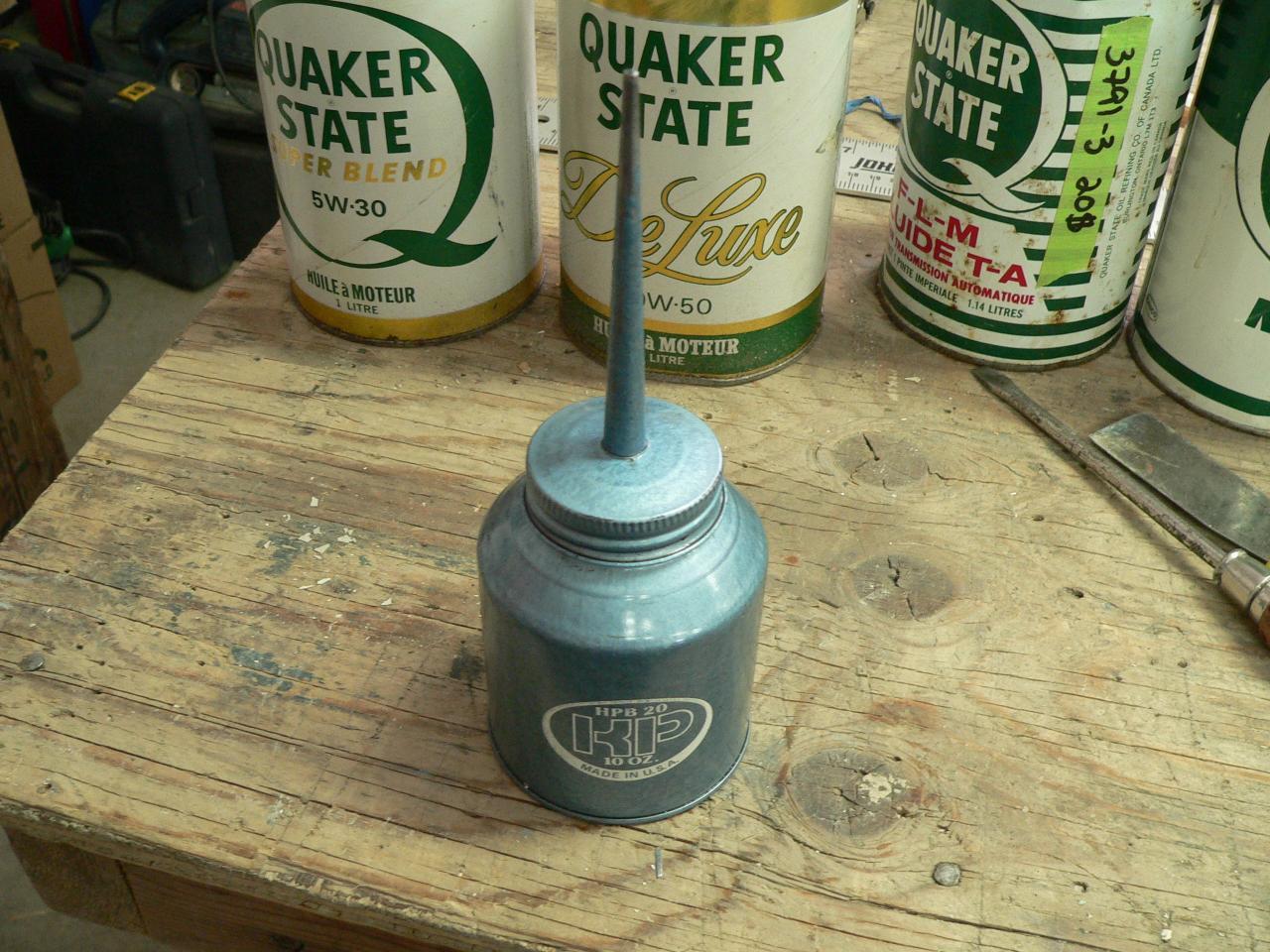 Burette d'huile vintage # 3798