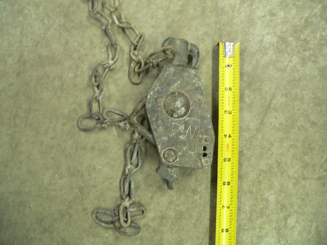 Poulie antique # 3872