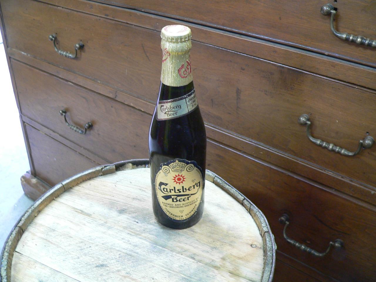 Bouteille biere carlsberg # 4664.6