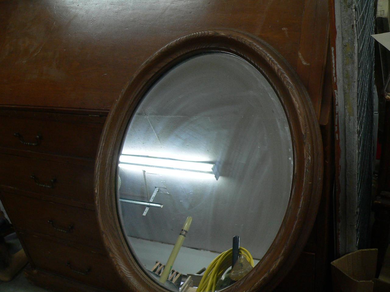 Miroir ovale # 4678