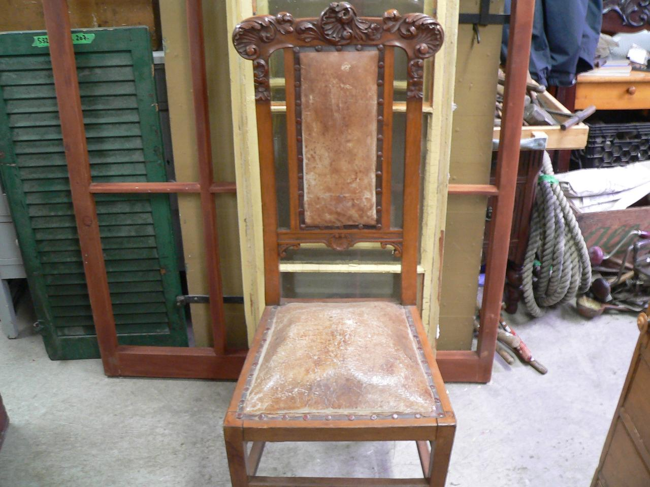 Tres belle chaise antique # 4686