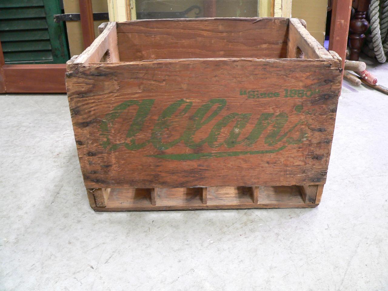 Caisse de bois allan # 4691
