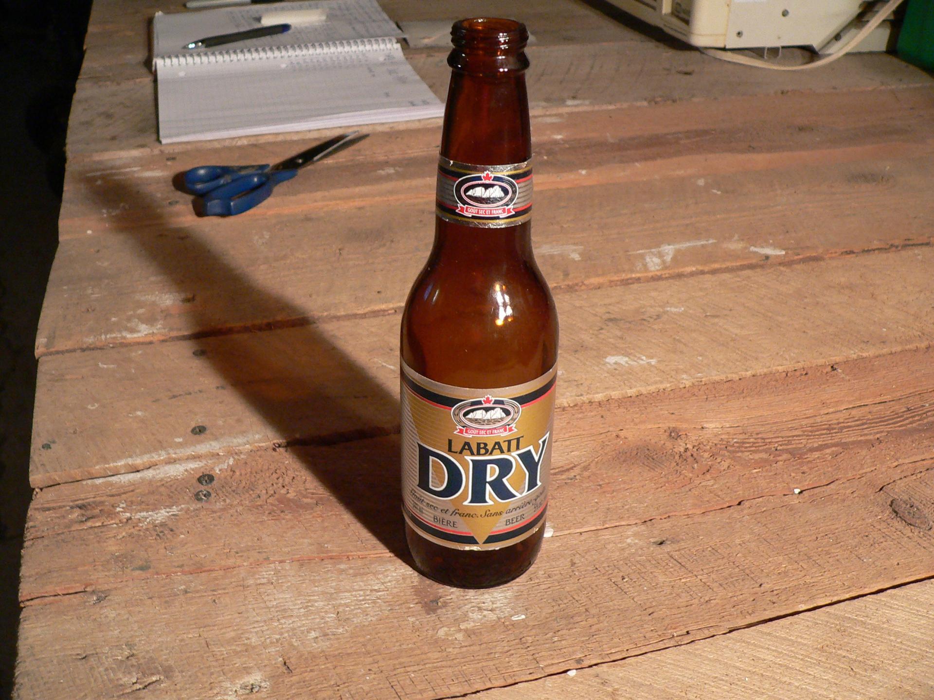 Bière labatt dry # 4739.11