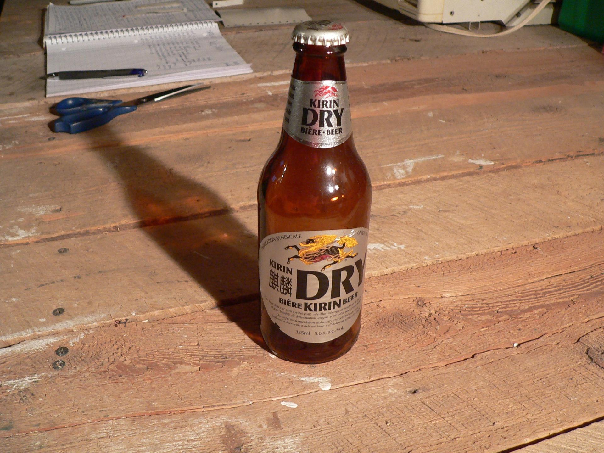 Bière kirin dry # 4739.21