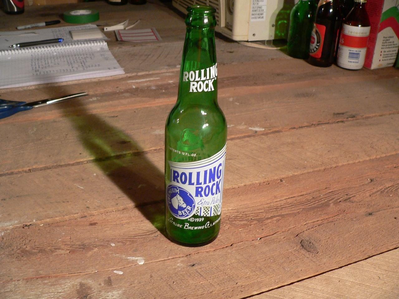 Biere rolling rock # 4739.31