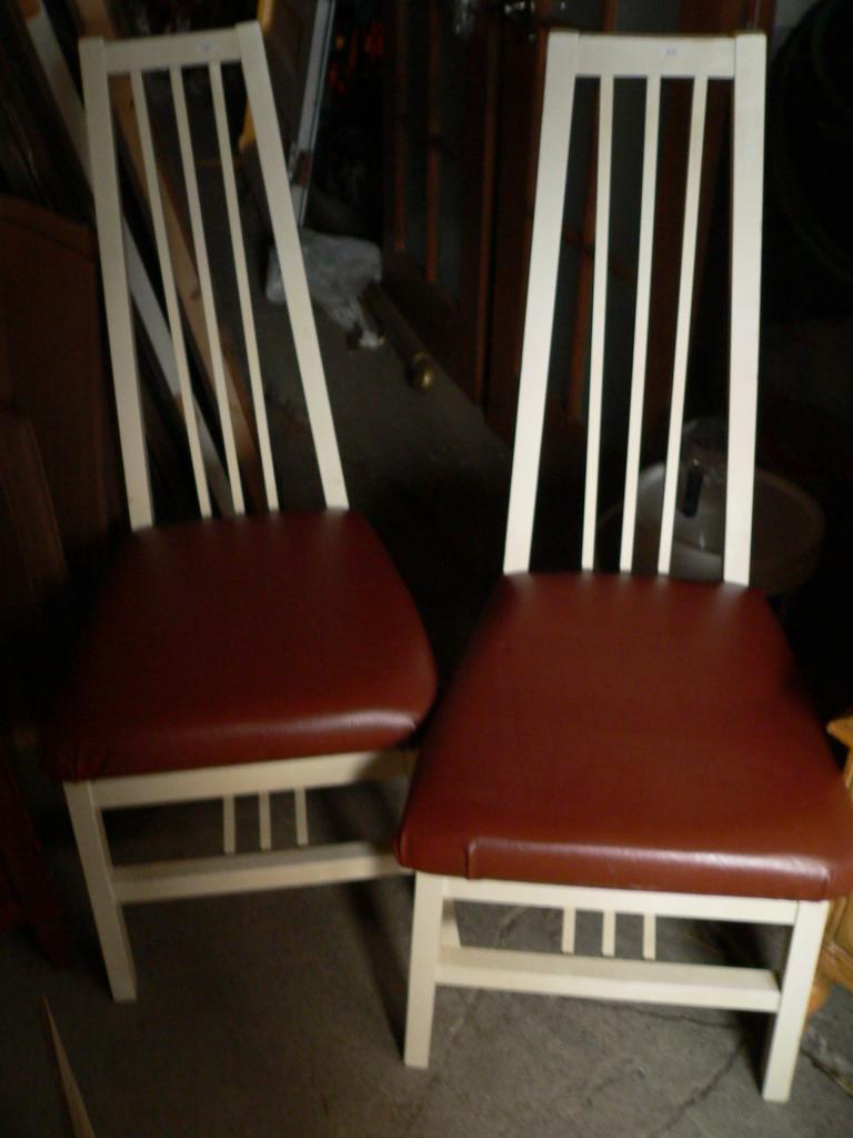 2 Chaise # 476-477