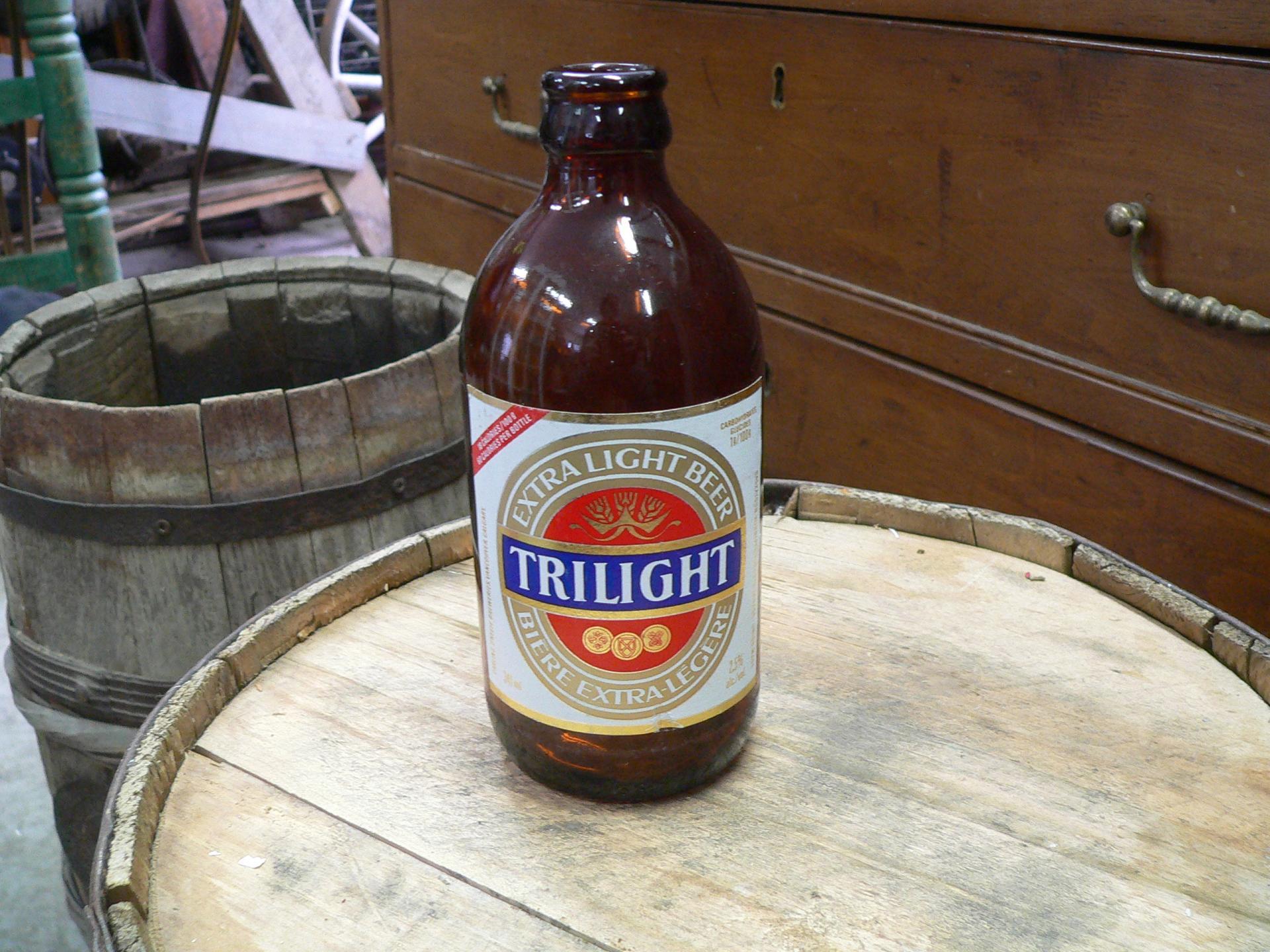 Bouteille biere trilight # 4870.3