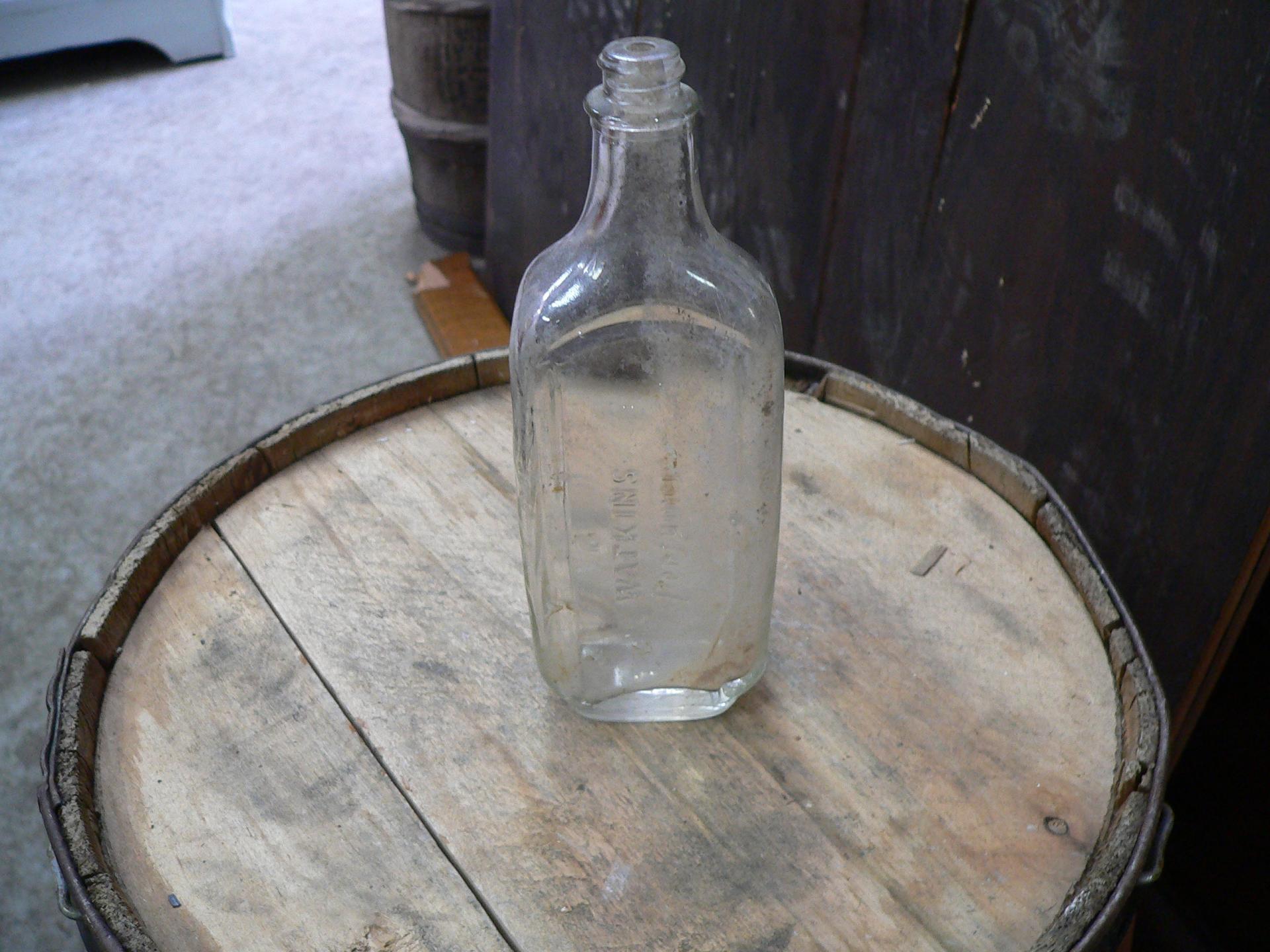 Bouteille antique watkins perfumer # 5023.40