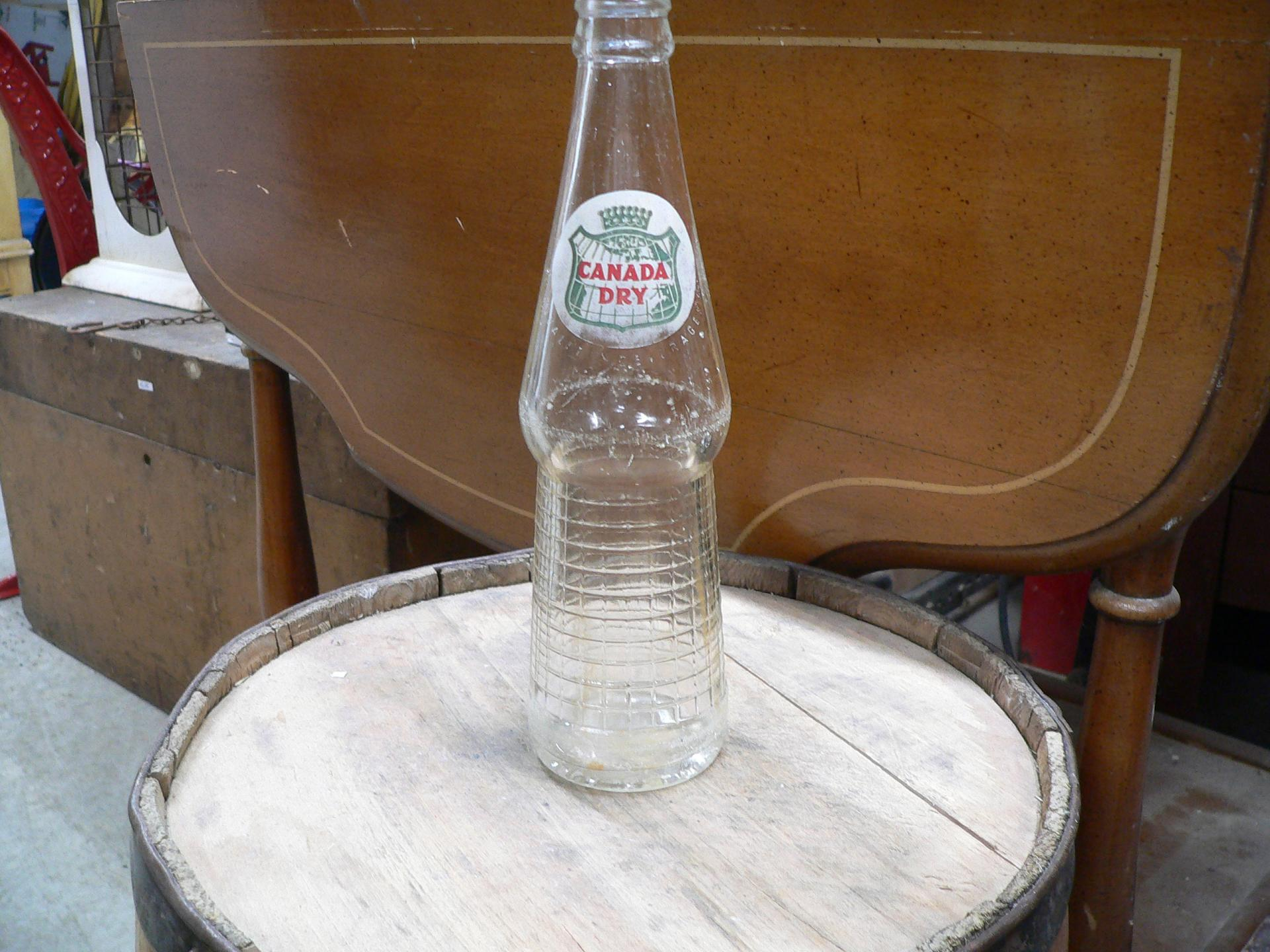 Bouteille canada dry # 5214.6