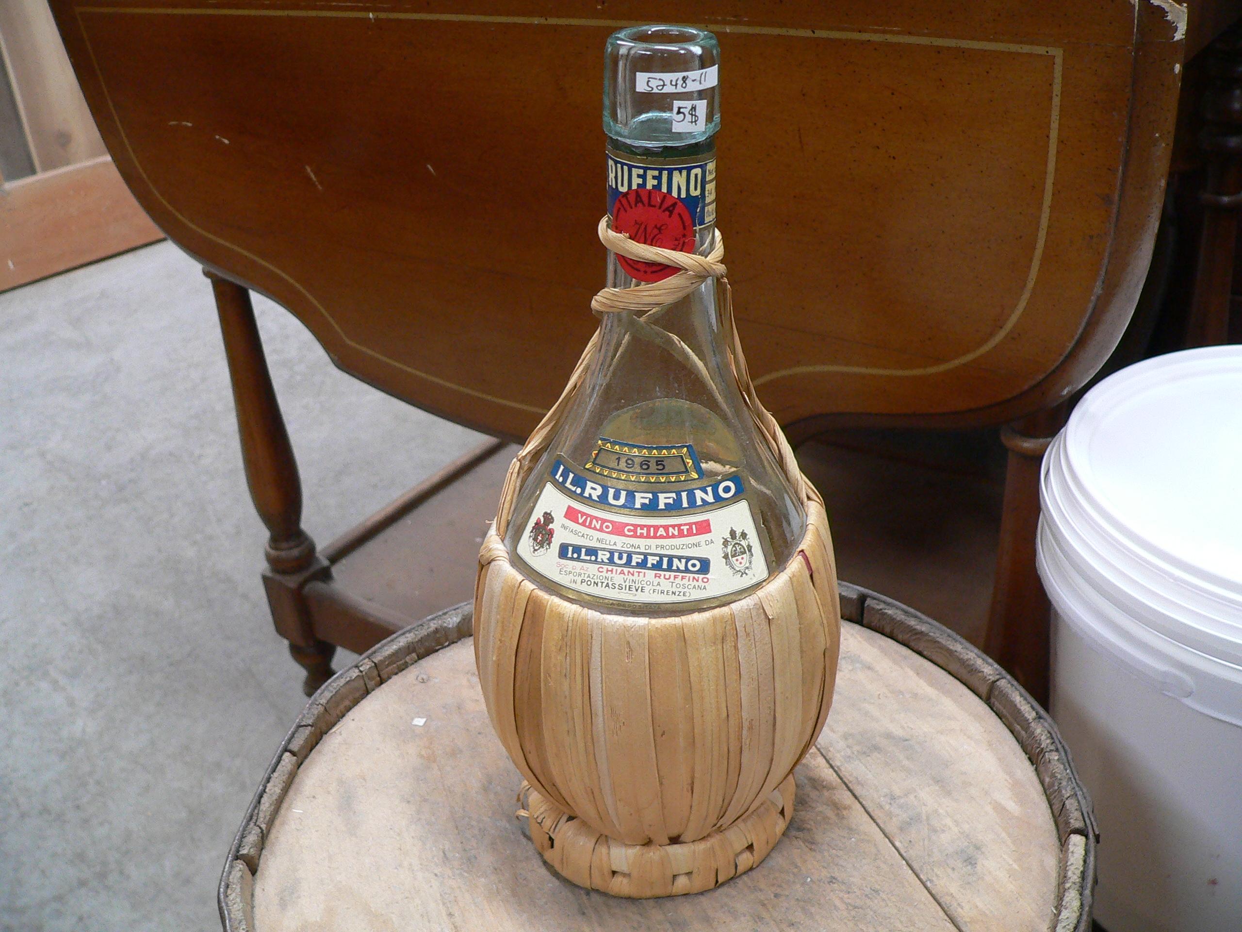 bouteille de vin I.L. Ruffino # 5248.11