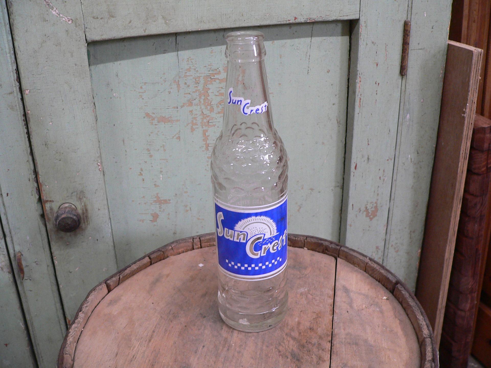 bouteille antique sun crest # 5318.2