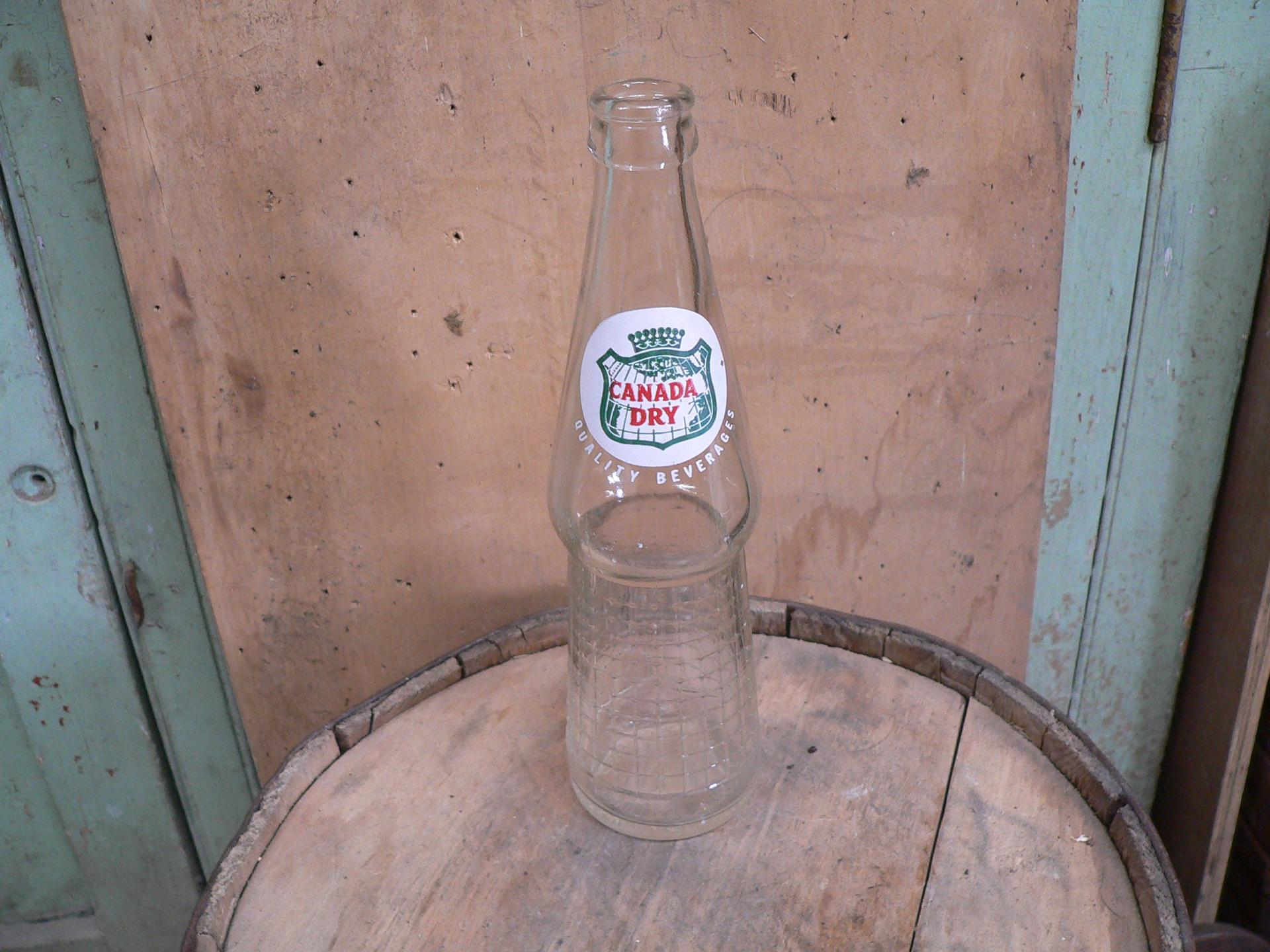 Bouteille antique canada dry # 5318.6