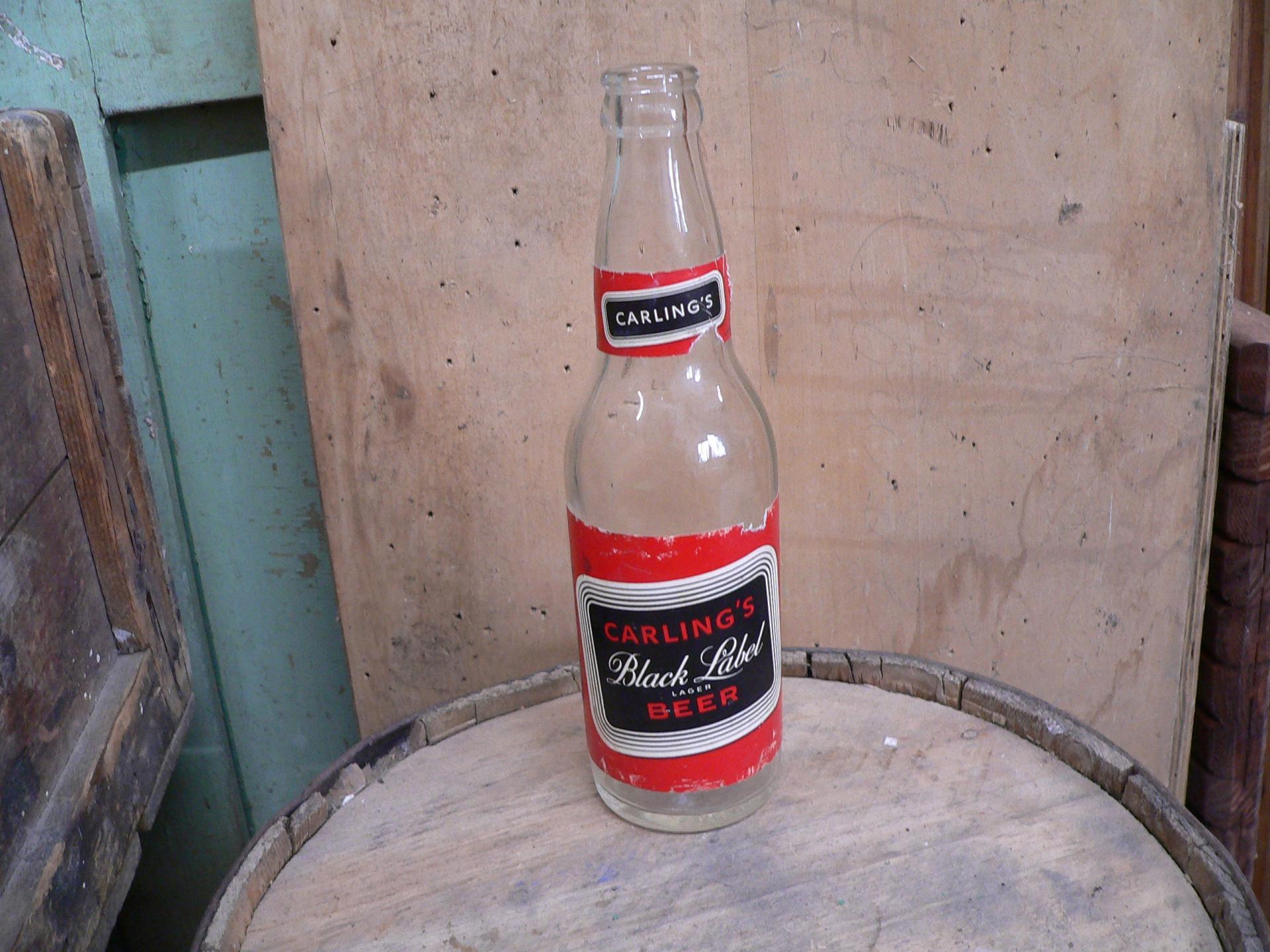 Bouteille antique carling's black label # 5434.3