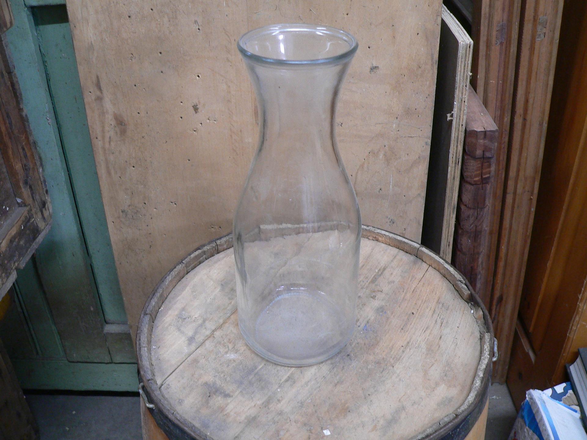 Vase en verre # 5454.15