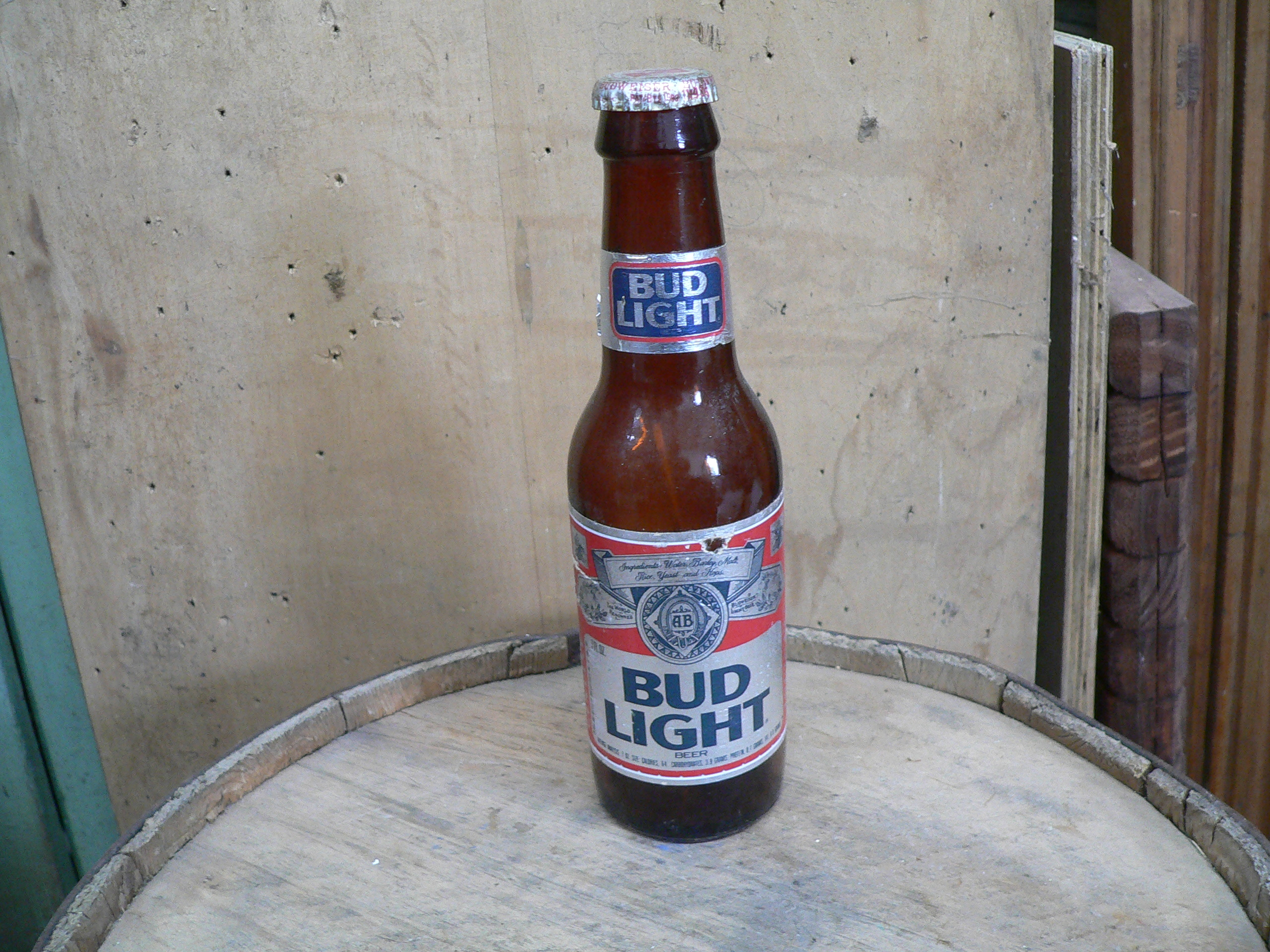 Bouteille bud light # 5602.3