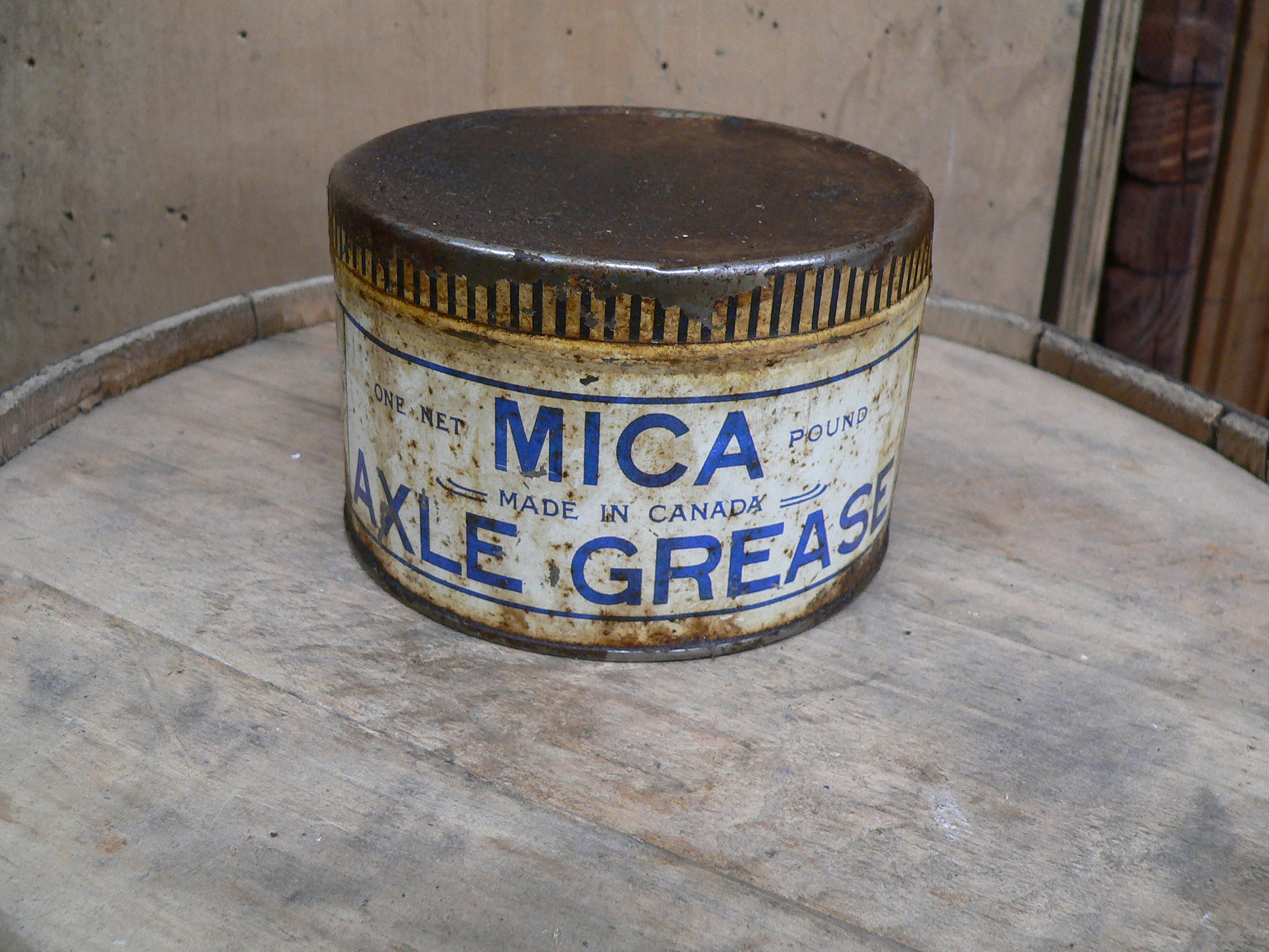 Canne de tôle axles grease mica # 5604.1