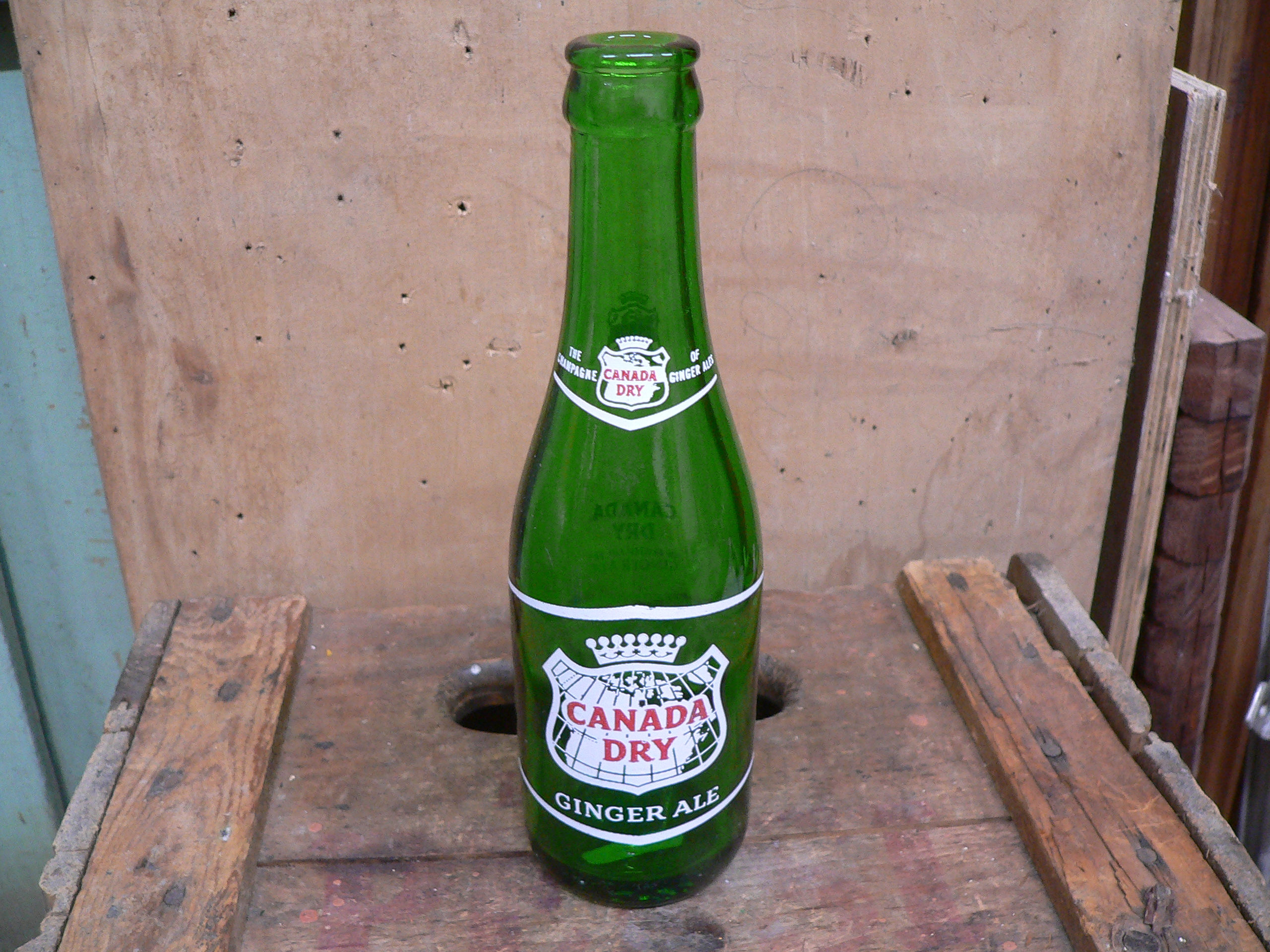 Bouteille antique canada dry # 5745.6