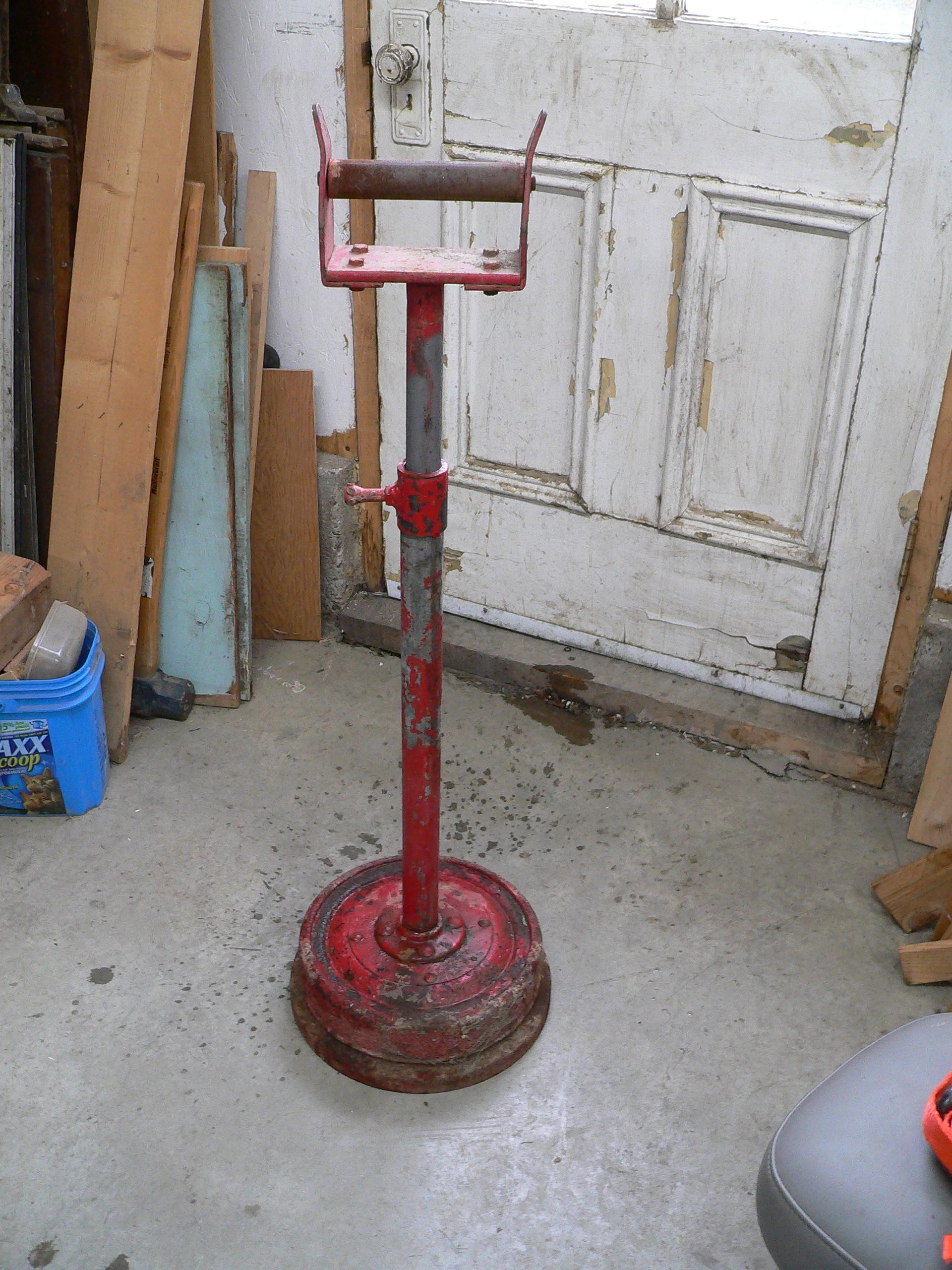 Support a métal sur roue # 5771.1
