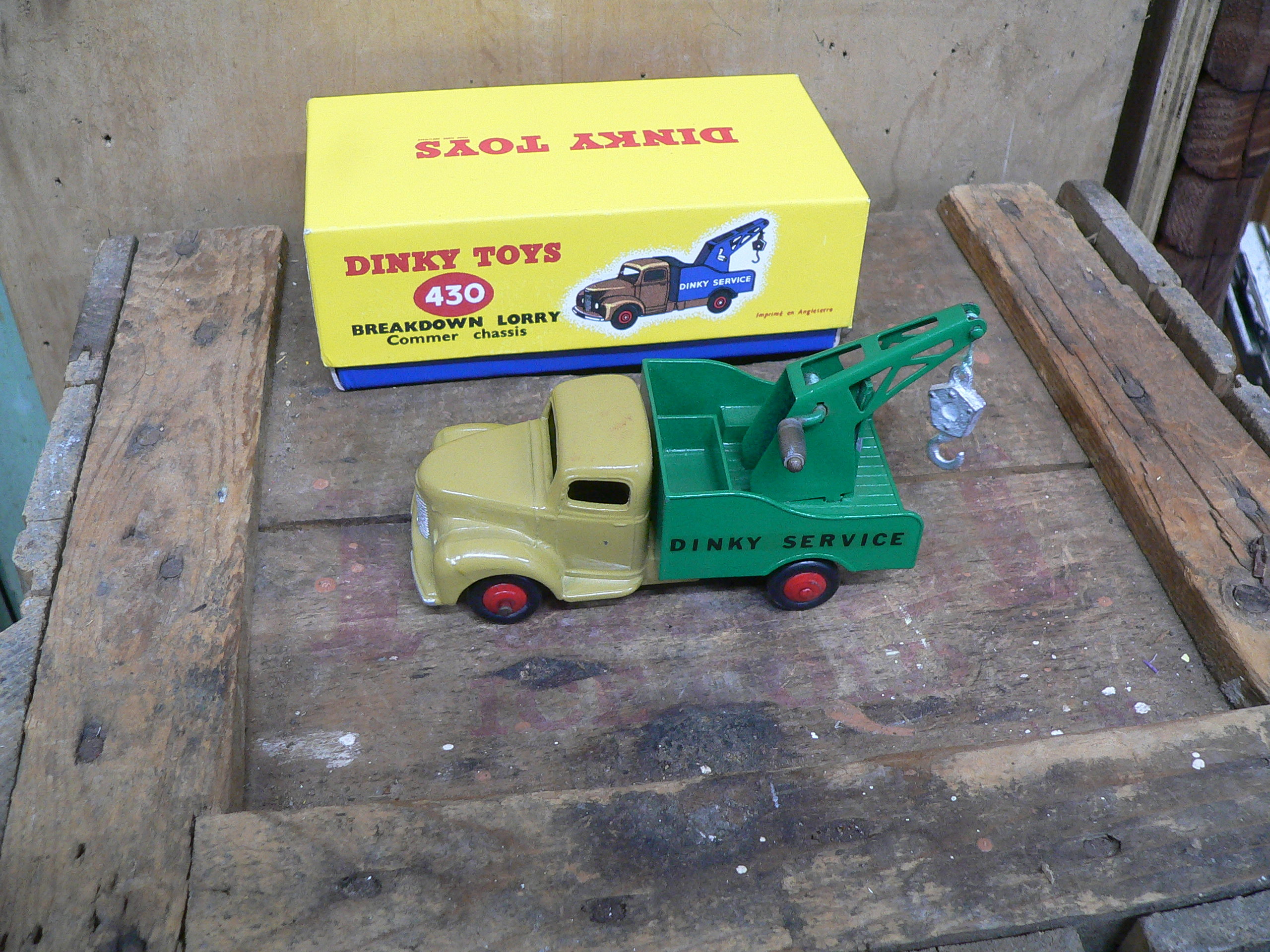 camion dinky toys # 5833