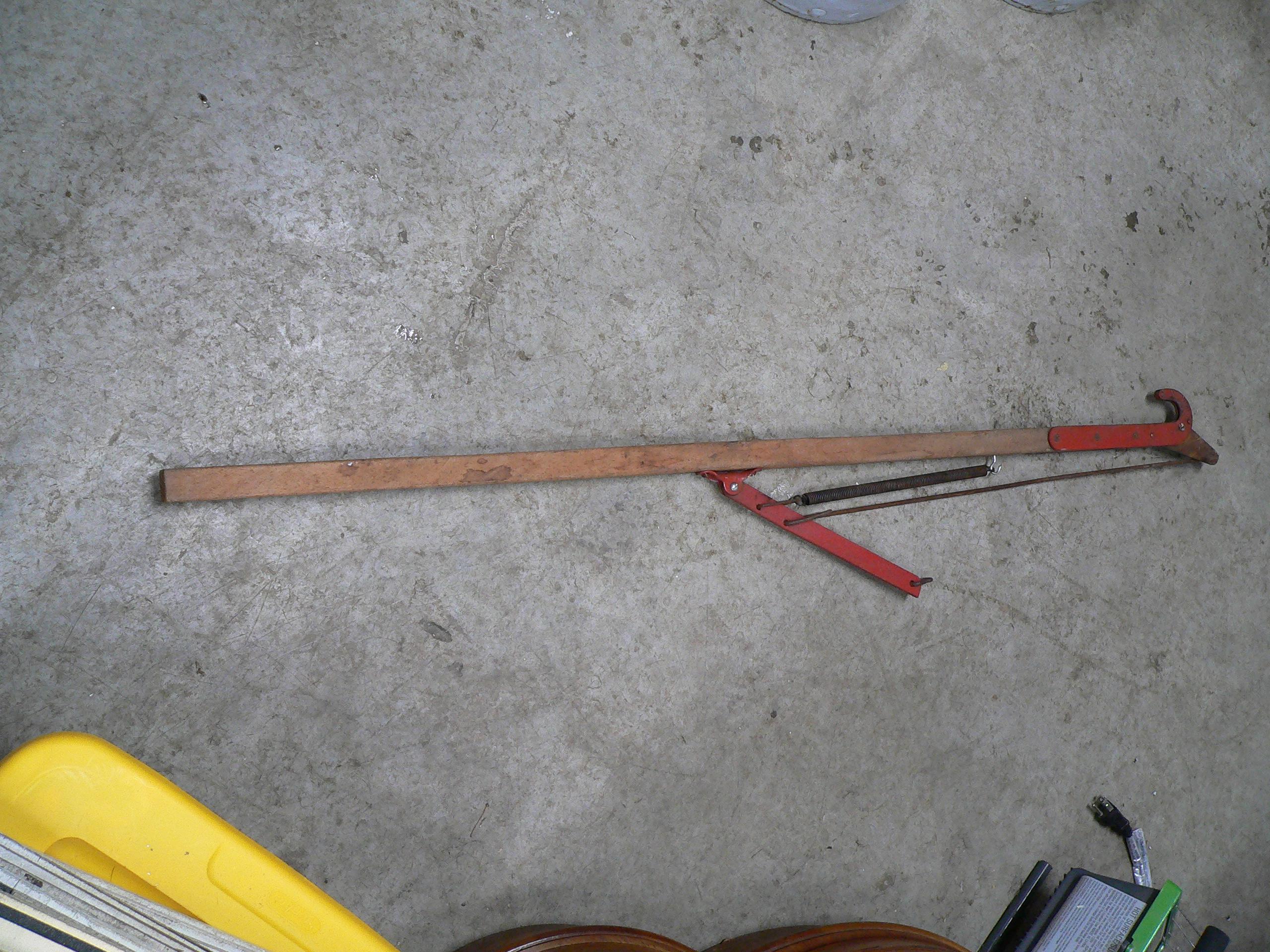 Baton antique pour tailler les arbres # 5869.16