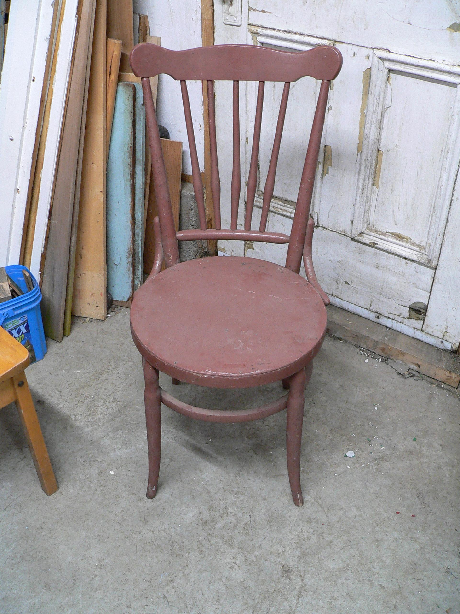Chaise antique bistro # 5892.22