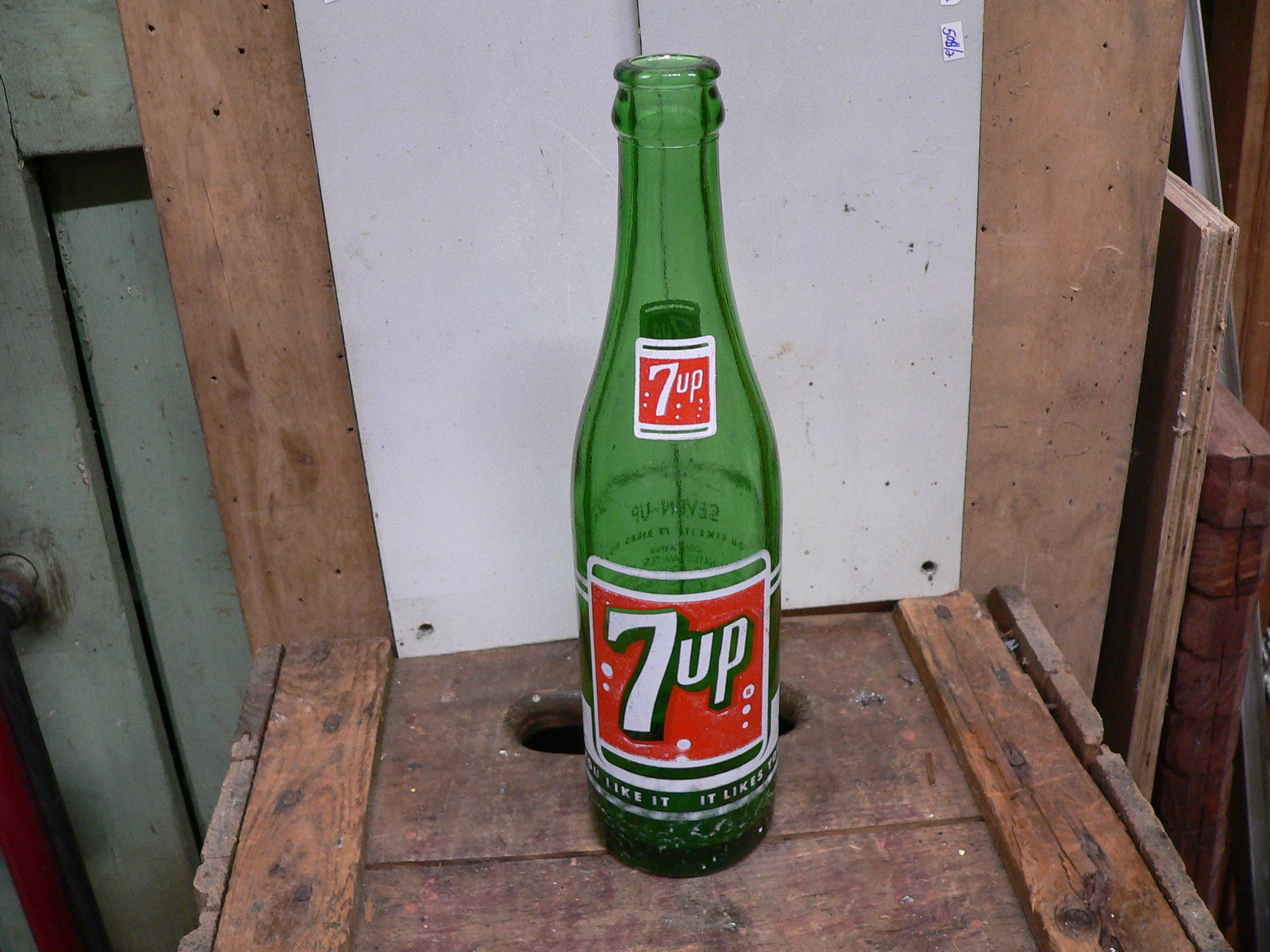 Bouteille 7 up # 5914.3