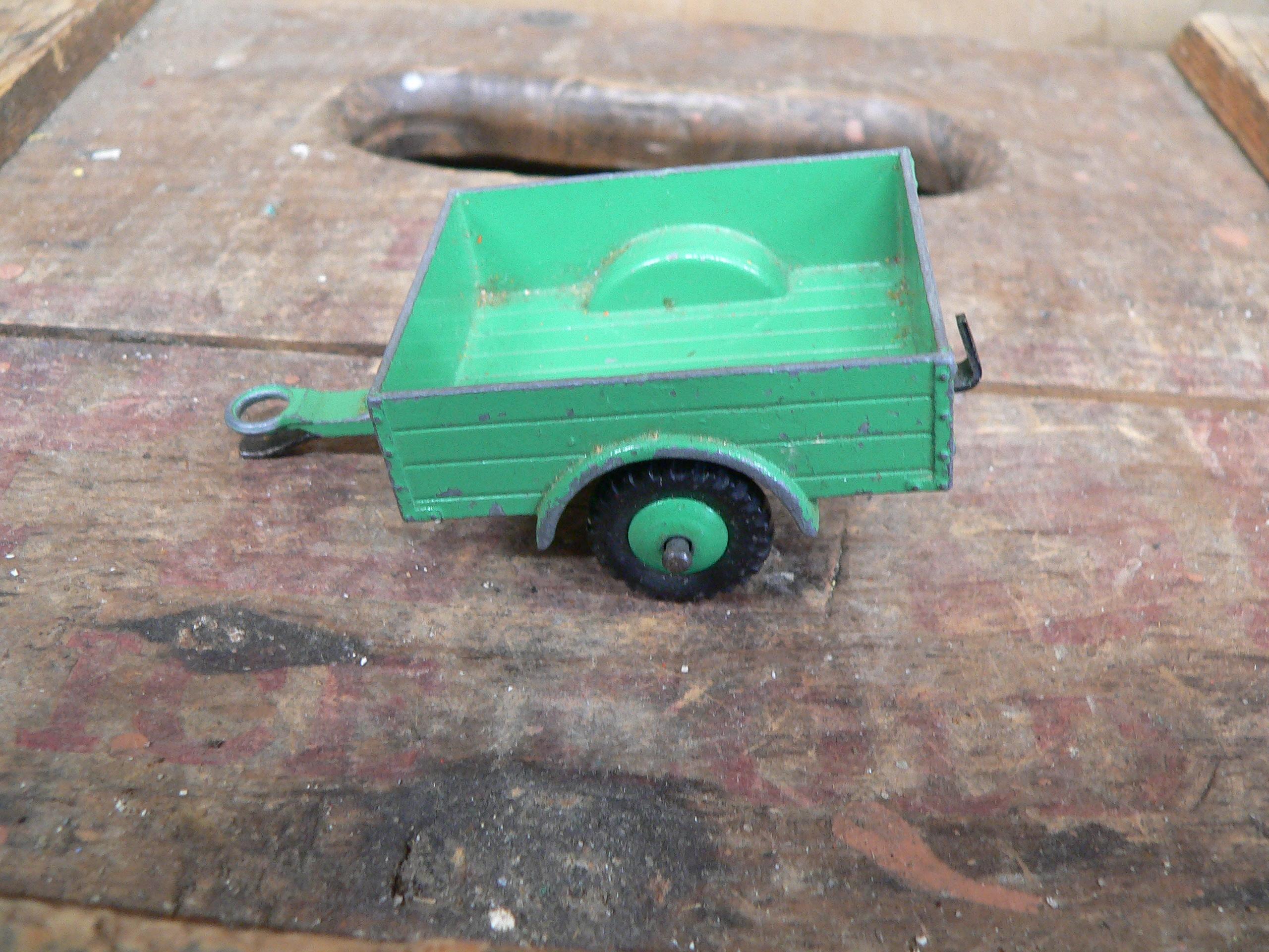 Trailer land rover green # 5923.22