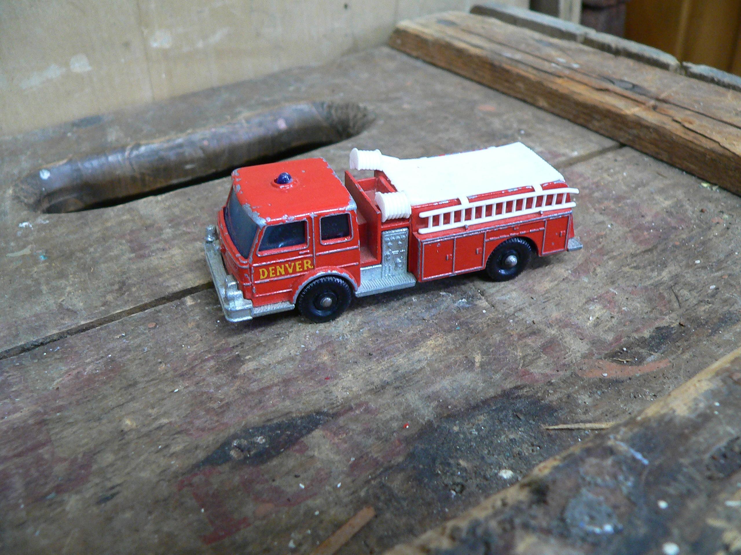 Fire pumper denver # 5928.11