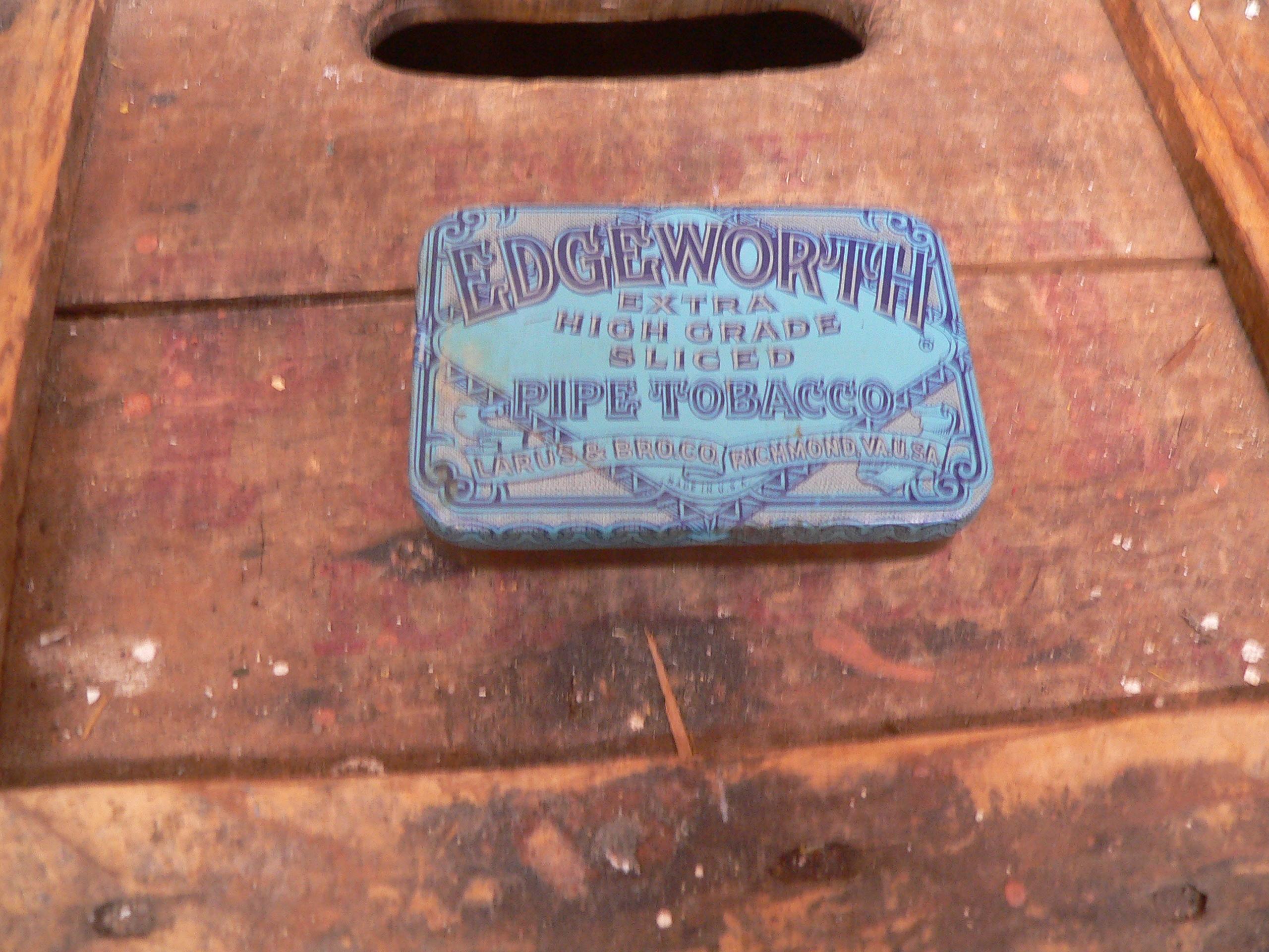 Boite de tabac a pipe edge worth # 6028.2