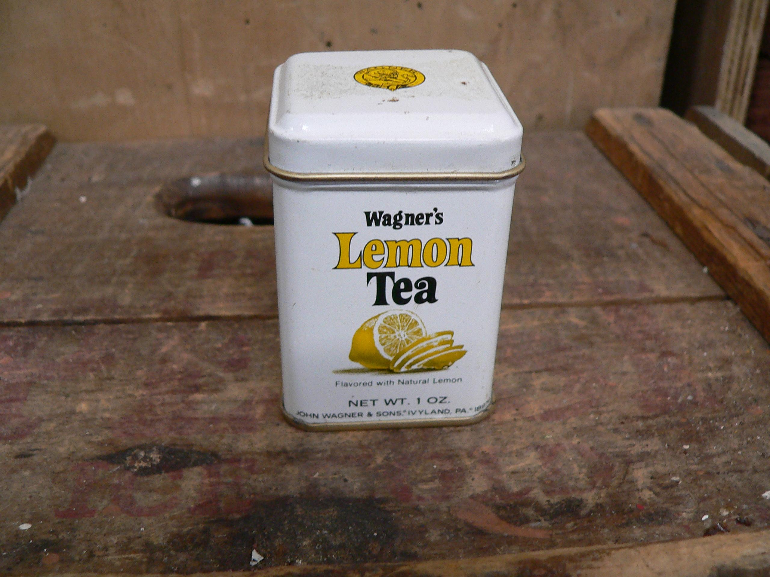 Canne wagner's lemon tea # 6208.3