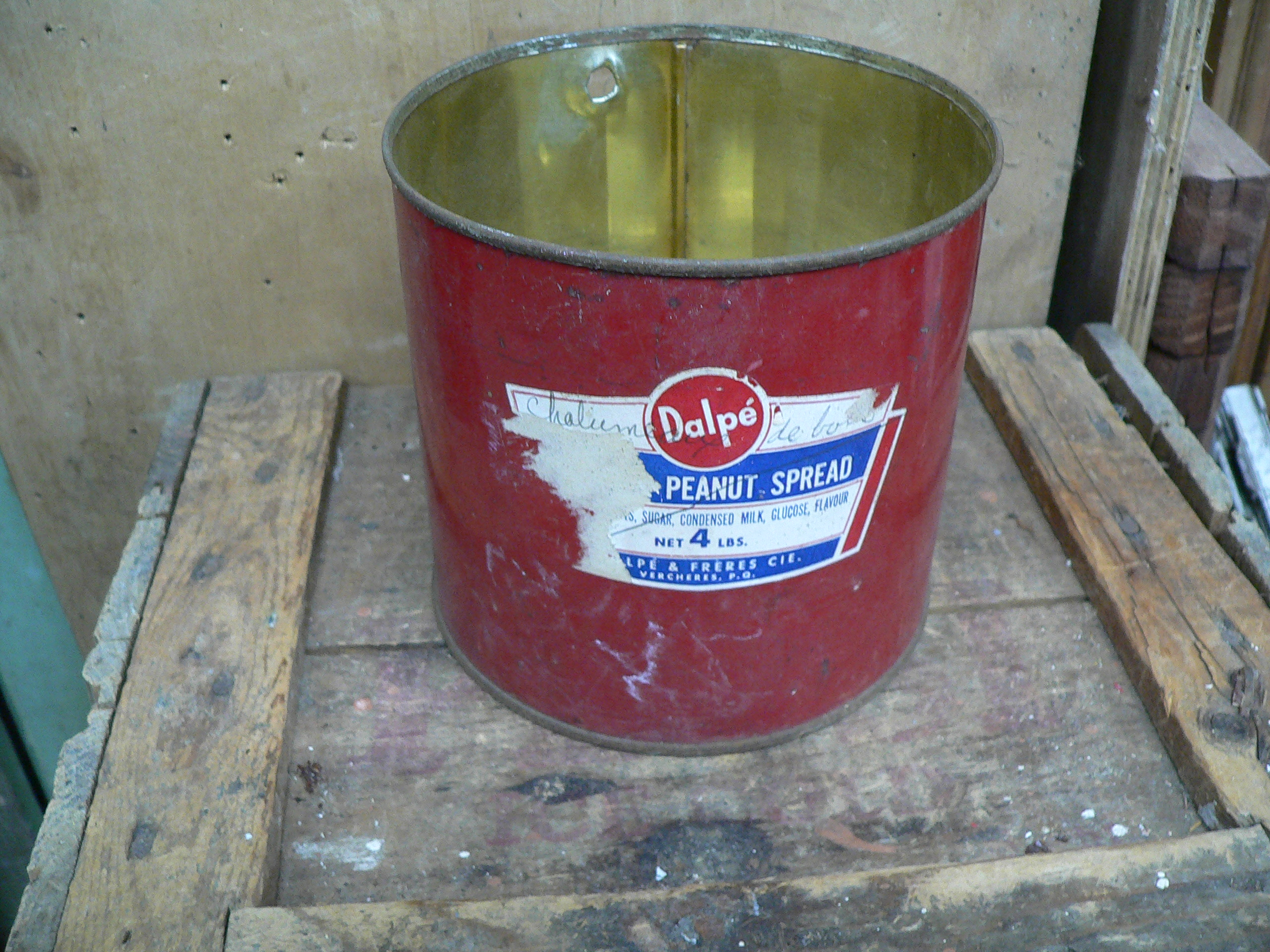 Canne de beurre peanut dalpé & frère # 6209.2