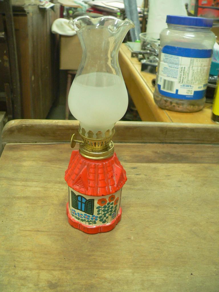 Petite lampe a l'huile # 1935