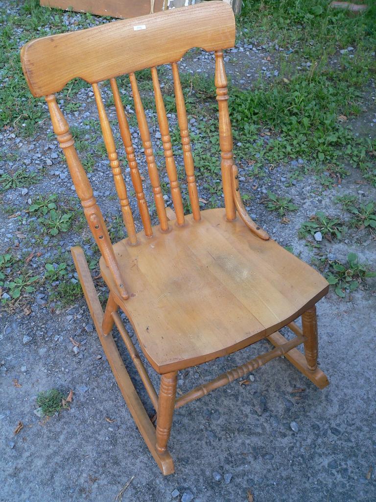chaise bercante # 2146