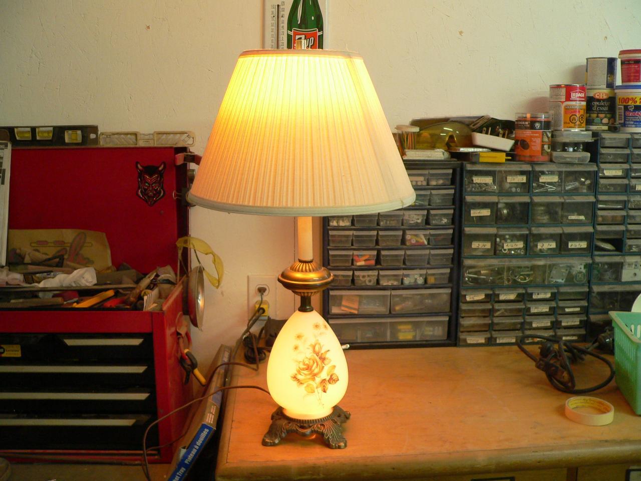 Lampe de salon # 2801