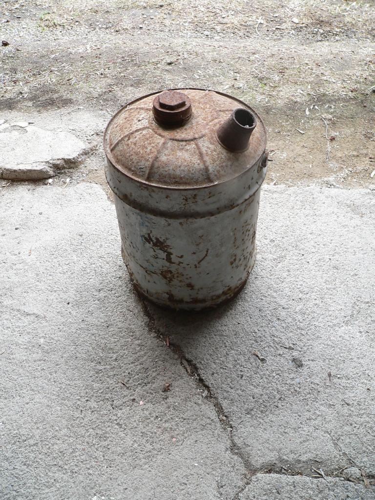 Bidon d'huile antique # 2938