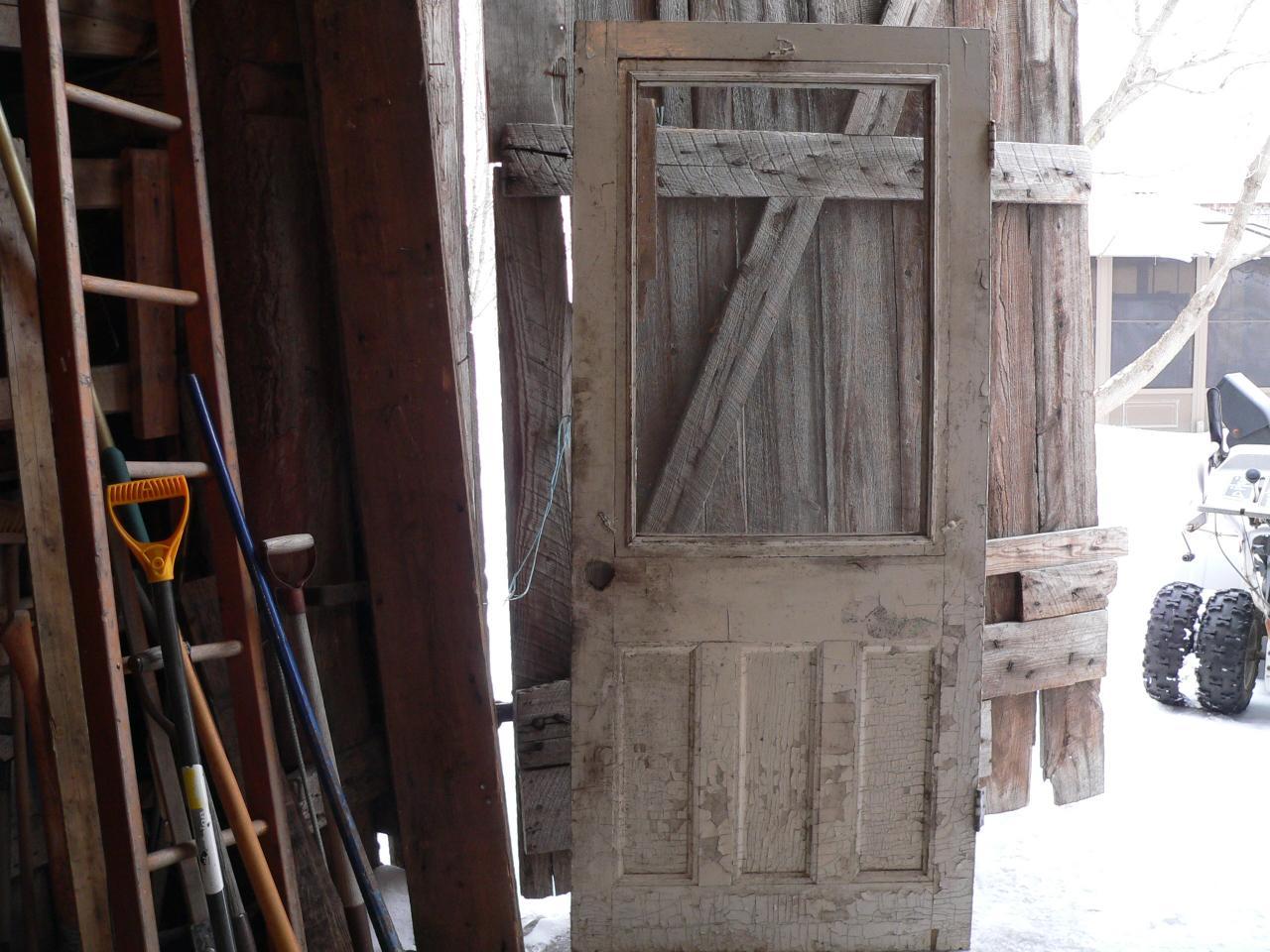 Porte antique # 3110