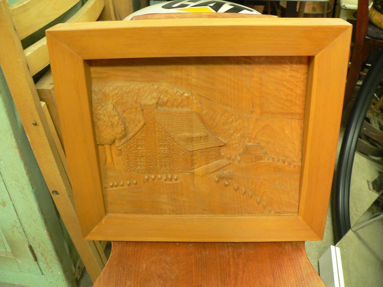 Cadre en bois # 3158