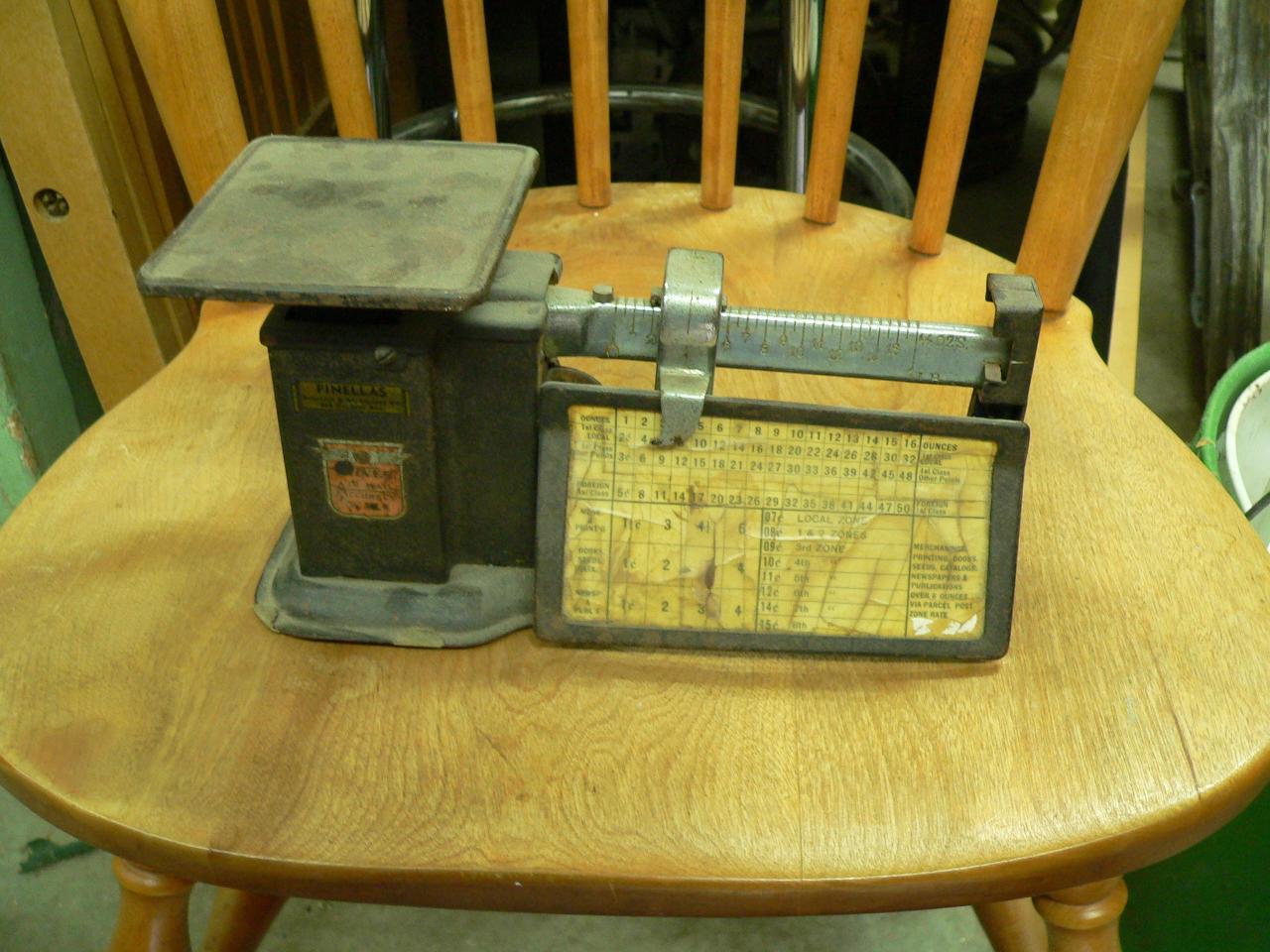 Balance antique postal # 3250
