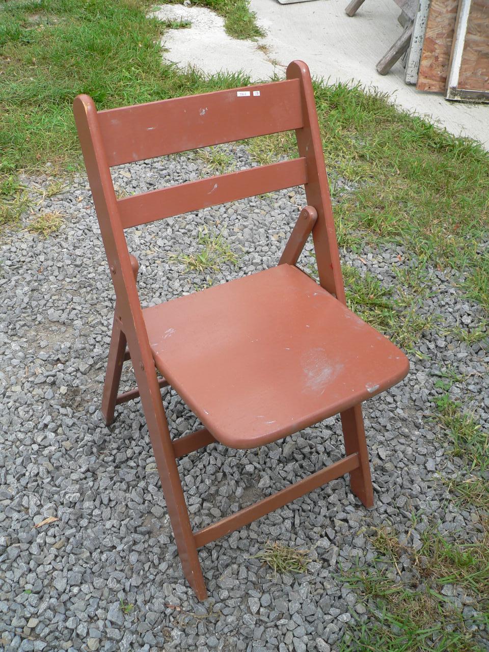 chaise pliante # 3303