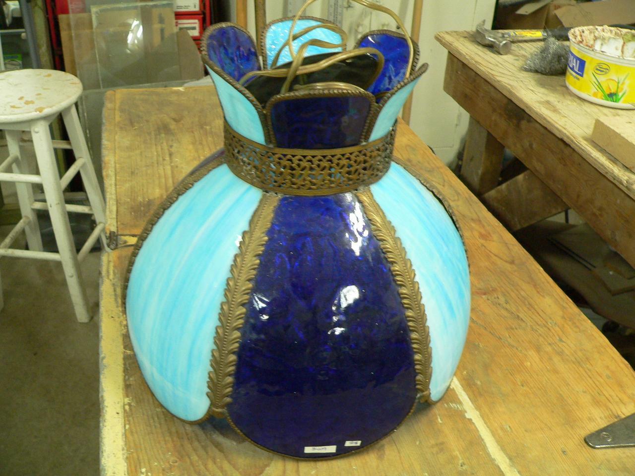 Lampe style Tiffany # 3409