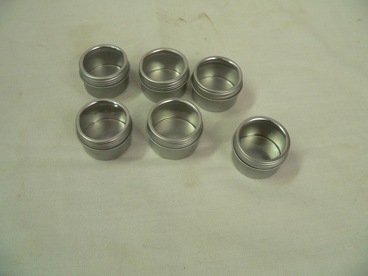 6 petit pot métal # 3573