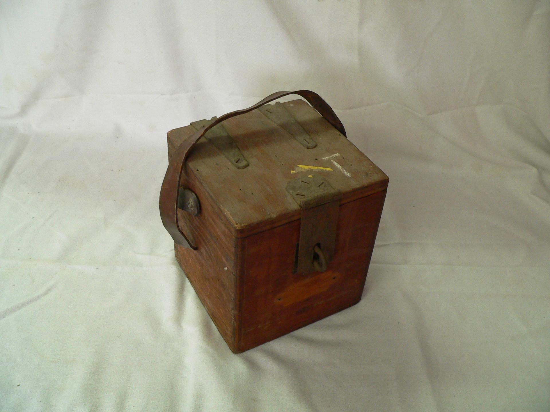 Boite de bois vintage # 3808.1