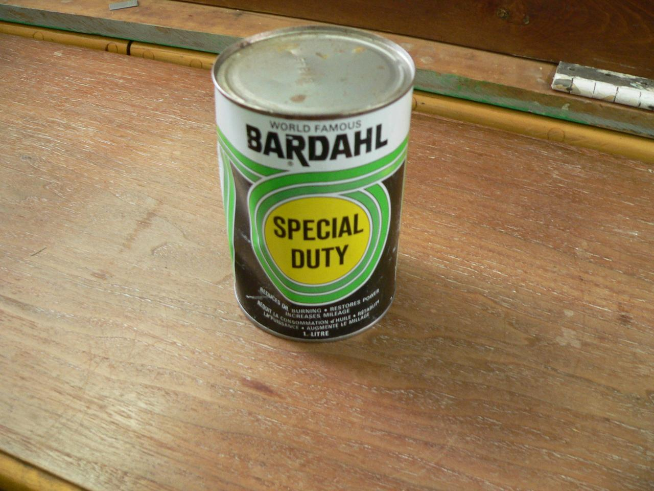 Litre de liquide bardahl vintage # 3849