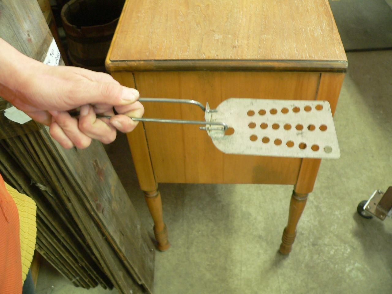 Spatule vintage en métal # 3860.2